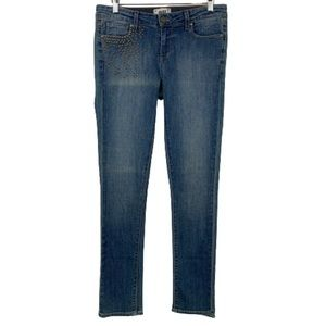 NEW PAIGE Skyline Ankle Peg Skinny Jean in Paxton